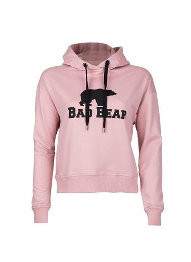 Bad Bear Sweatshirt Pembe